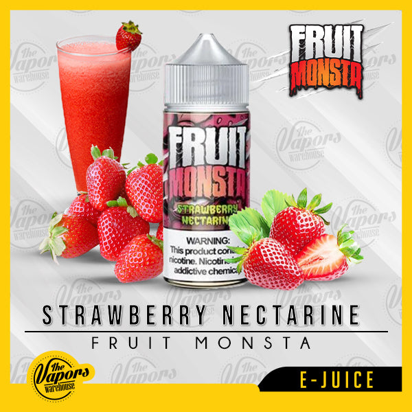 Strawberry Nectarine - Fruit Monsta - 100ml 100ml / 3mg