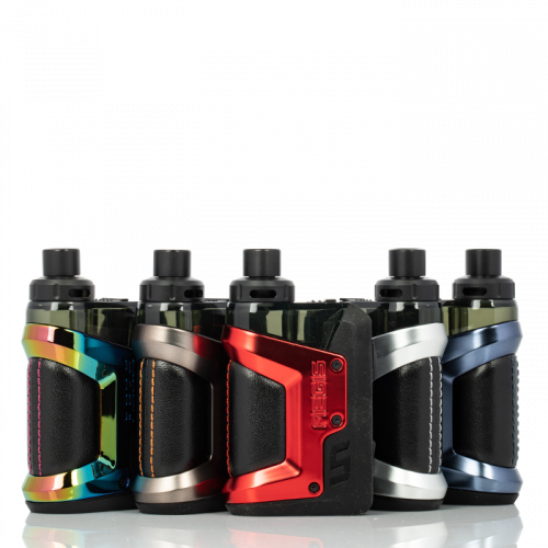 GEEK VAPE AEGIS HERO 45W POD KIT Black,Blue,Silver,Red,Rainbow,Gunmetal