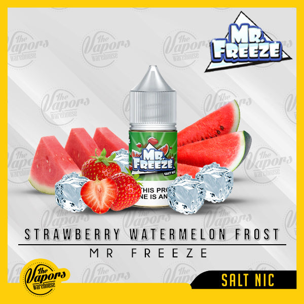 Mr. Freeze Salt Nic - Strawberry Watermelon Frost 30ml / 35mg,30ml / 50mg