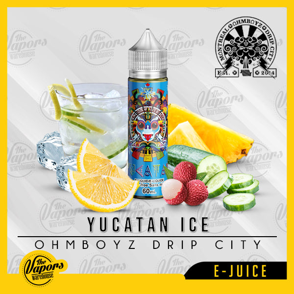 OhmBoyz Drip City - Yucatan Ice 60ml / 3mg