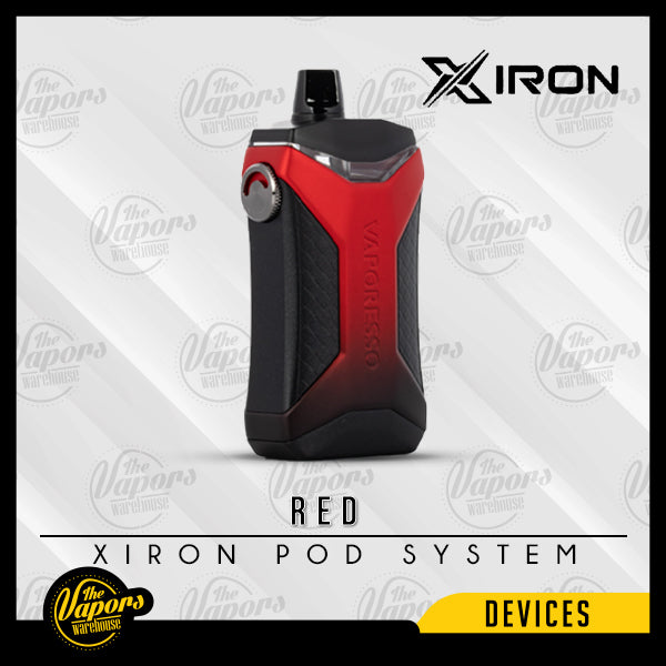 VAPORESSO XIRON 50W POD KIT Red