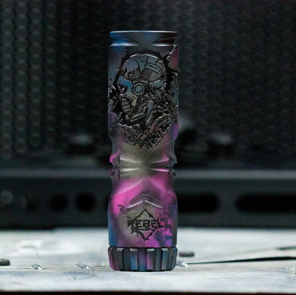 ⚠️ Rock Vape Mods -  Co Rebel Purple storm LE 1/100 (Mechanical) Default Title