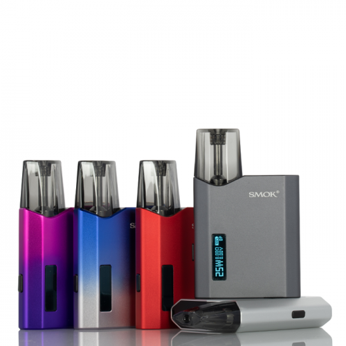 SMOK NFIX-MATE 25W POD SYSTEM Black,Blue Purple,Green,Grey,Red,Silver,Silver Blue,7 Colors