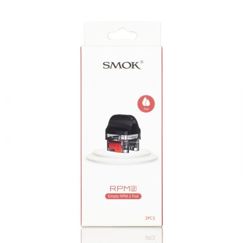 SMOK RPM 2 REPLACEMENT PODS RPM Version POD [Black Box],RPM 2 Version POD [Red Box]