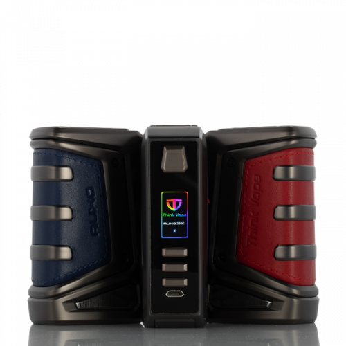 Think Vape Auxo DNA 250C Box Mod Black,Blue,Red,Brown,Carbon Fiber