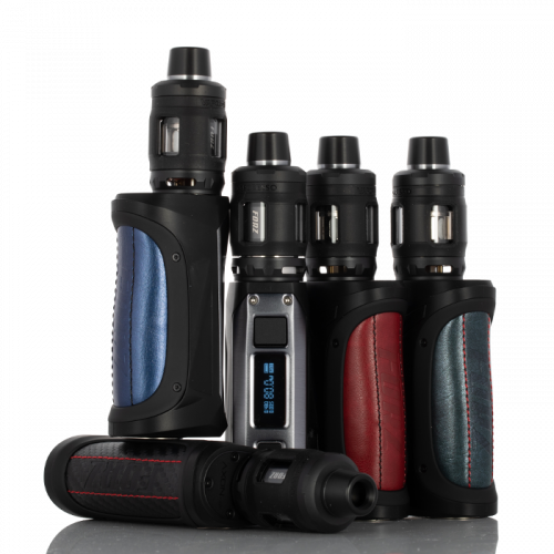 VAPORESSO FORZ TX80 80W STARTER KIT Brick Black,Gunmetal Grey,Imperial Red,Leather Brown,Steel Blue