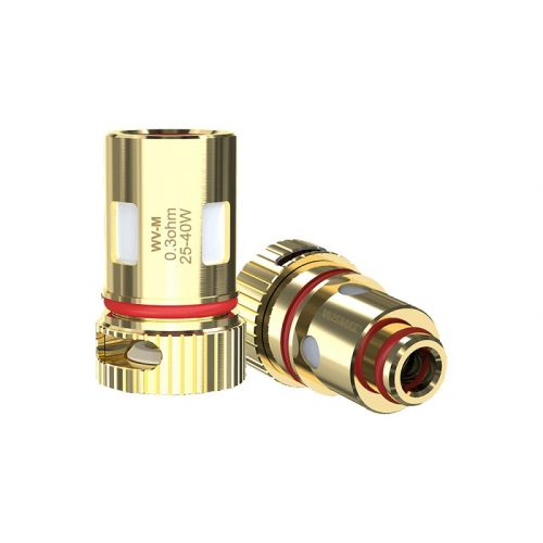 WISMEC WV REPLACEMENT COILS 0.3ohm WV-M Mesh Coil - rated for 20-40W,0.8ohm WV01 Single Coil - rated for 12-20W