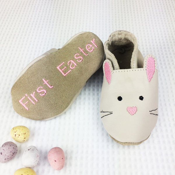 first easter baby shoes - first easter gift - baby easter outfit - personalised easter git