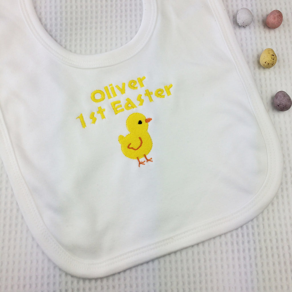 Personalised First Easter Bib - Born Bespoke