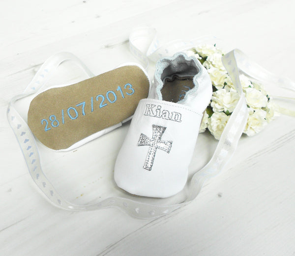 Personalised Christening Shoes with