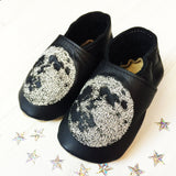 Personalised Moon Baby Shoes - Born Bespoke