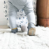 Leather embroidered First Easter Rabbit Baby Shoes by Born Bespoke - Born Bespoke