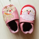 First Christmas Character Baby Shoes - Born Bespoke