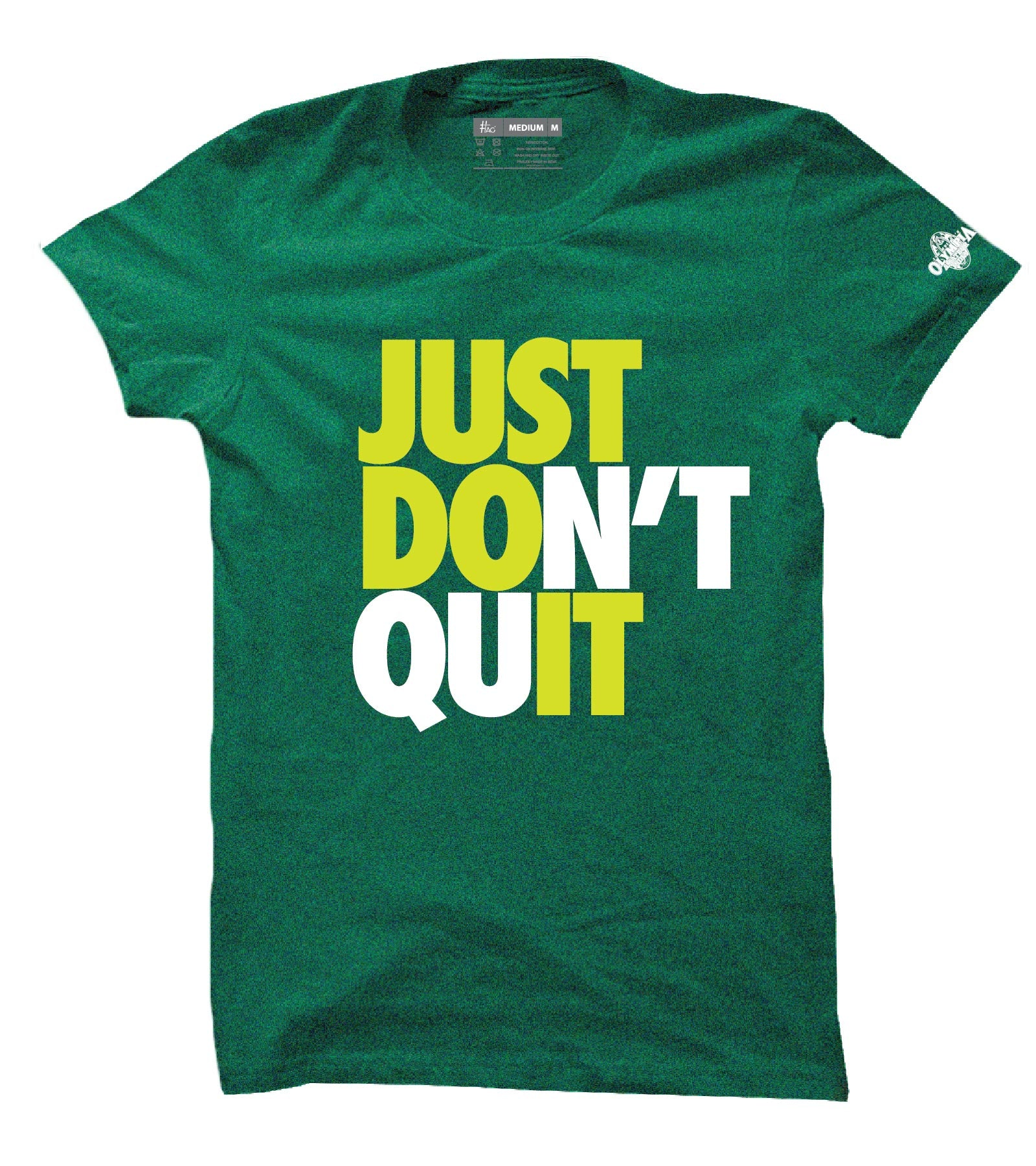 Just Don T Quit Official Olympia India Round Neck T Shirt For Men