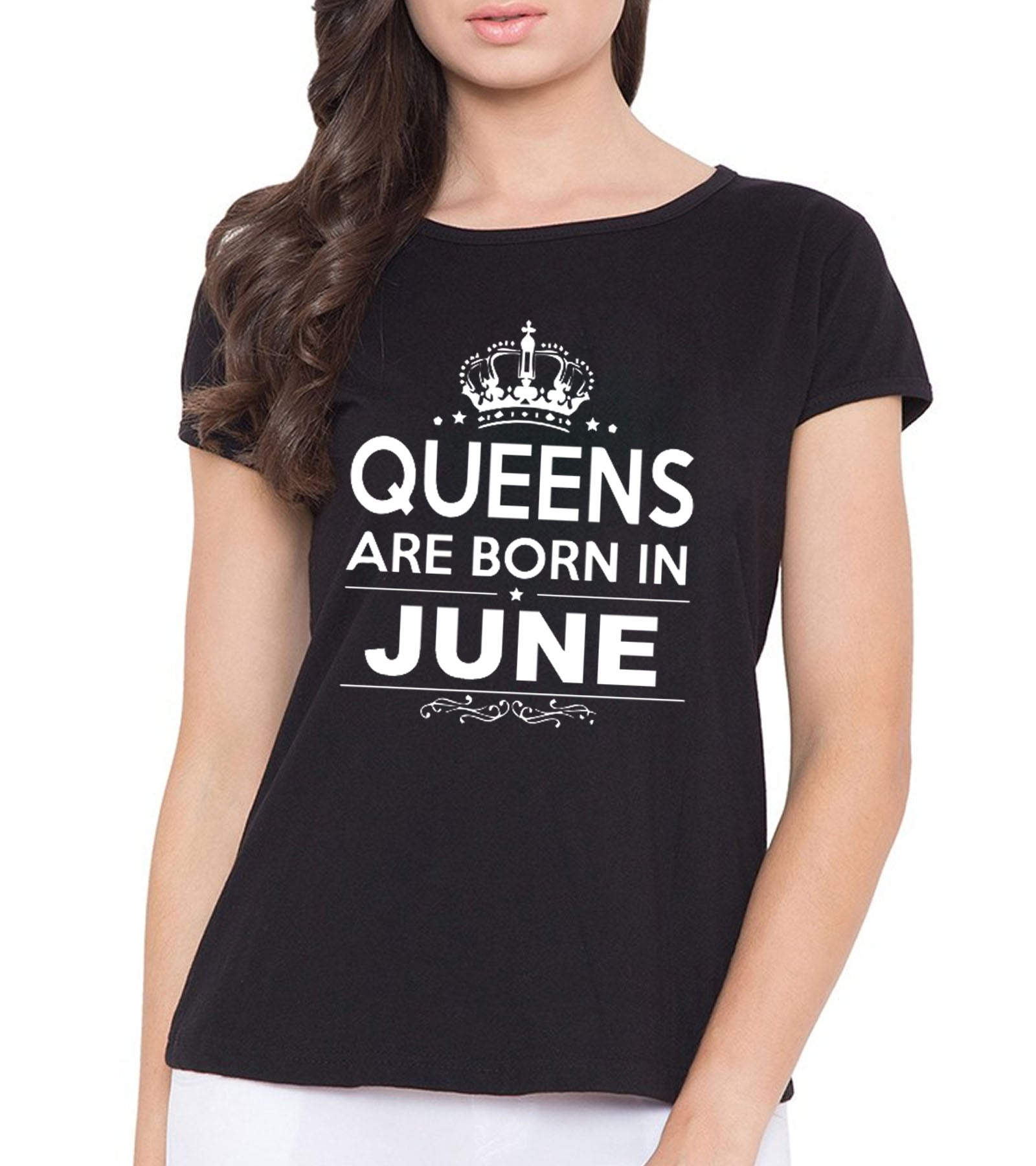 b9808301 Birthday Queens born in june gifting T-shirt