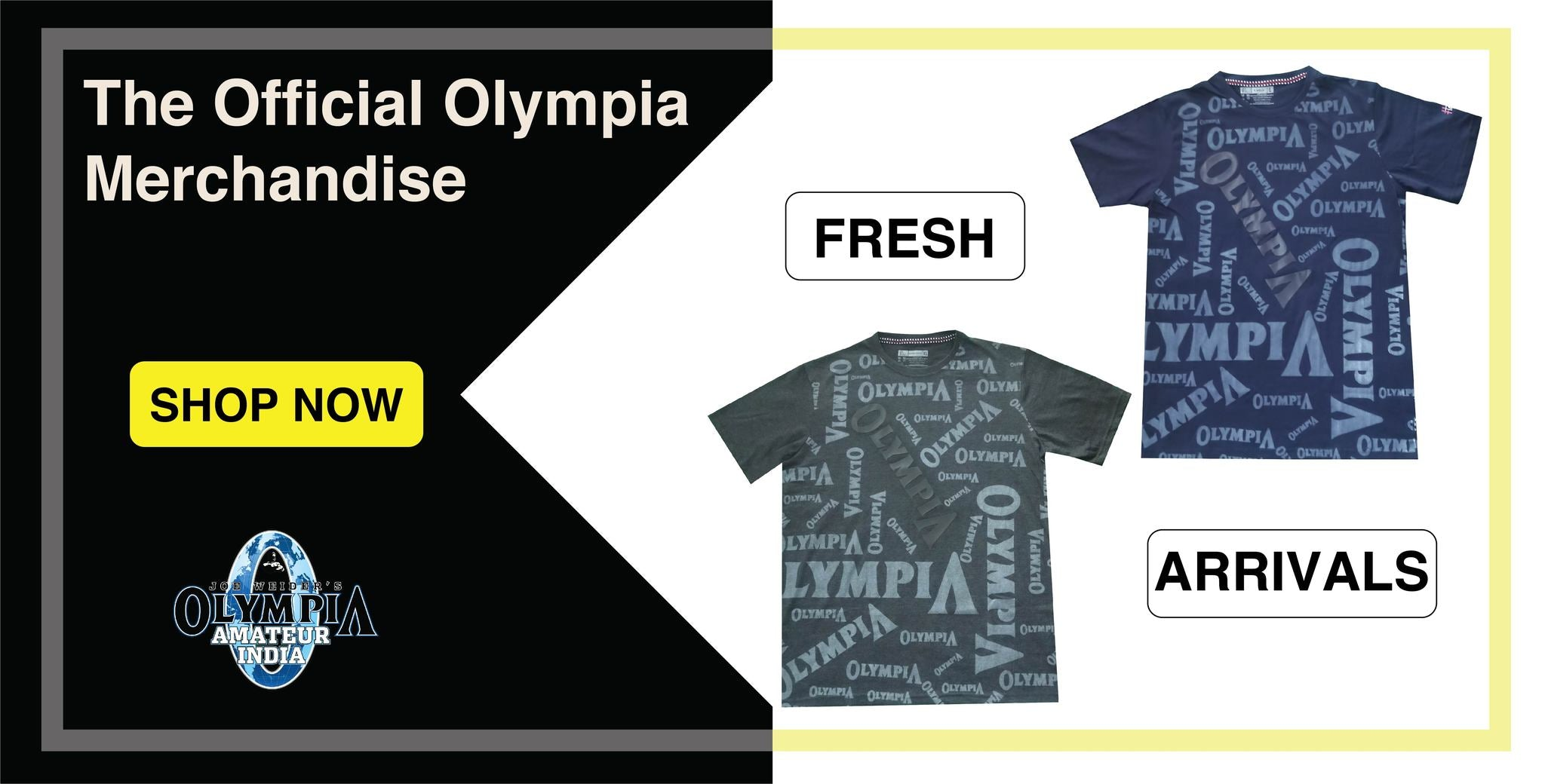 Official Olympia Merchandise