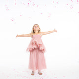 (Kids) Long Vieux Rose Tutu