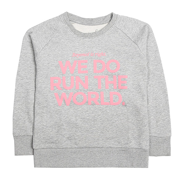 We Do Run The World Kids Sweater