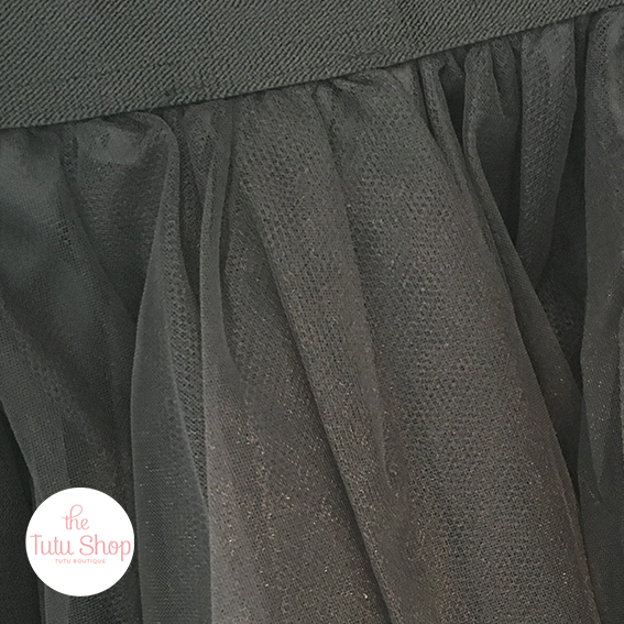 Long Dark Grey Tutu