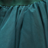 Tulle Midnight Green