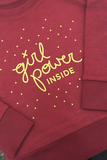 Girl Power Inside - kids sweater