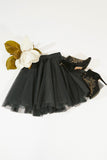 Short Dark Grey Tutu
