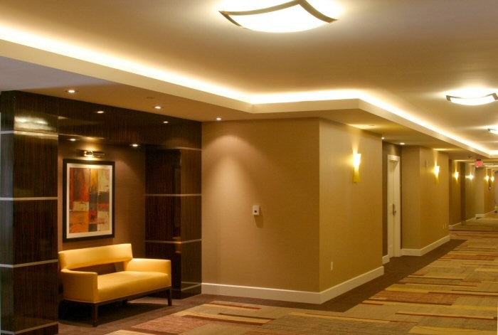 coved ceiling lighting. If You Are Fitting/moulding Your Own Coving, Can Choose How Far Down From The Ceiling Want It. Once Coving Is In Place, A Good Tip For Coved Lighting