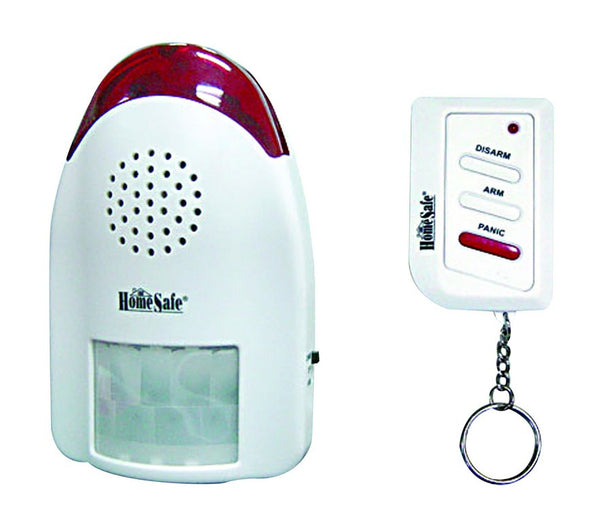 WIRELESS MOTION SENSOR ALARM WITH REMOTE