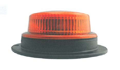 10-30VDC LED M.F.BEACON,20x0.2W,AMBER,MAGNETIC MOUNT