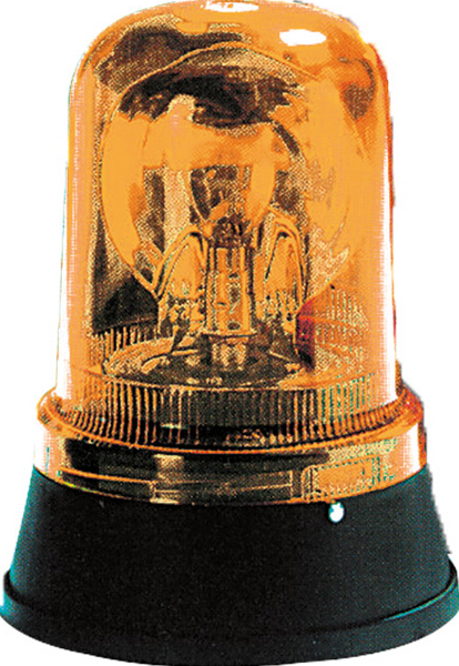 AMBER ROTATING BEACON