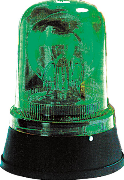 24VAC/DC GREEN ROTATING BEACON