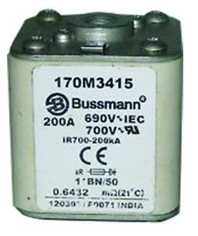 HIGH SPEED SIZE 01 FUSE 630A 690V