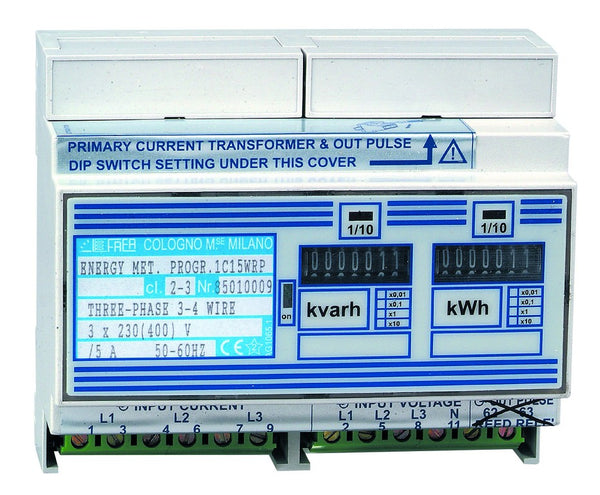 3PH + N KWH AND KVARH METER PULSED OUTPUT