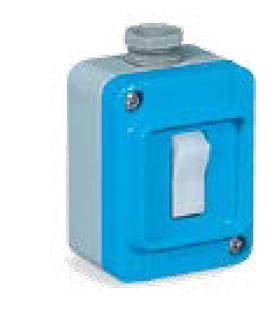 "16A 1L2W SWITCH IN TAIS IN GRP 1X1/2"" IP67"