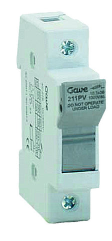 1000VDC PHOTOVOLTAIC FUSE BASE 10X38