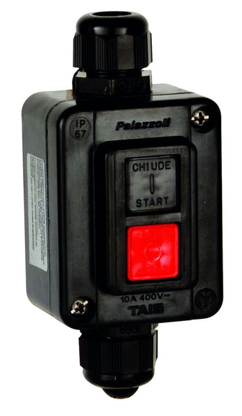 ATEX 1ON + 1OFF 10A PUSH BUTTON SW ENCLOSURE 62X80X48 IP66