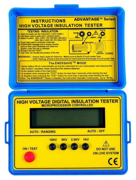 5KV DIGITAL INSULATION TESTER