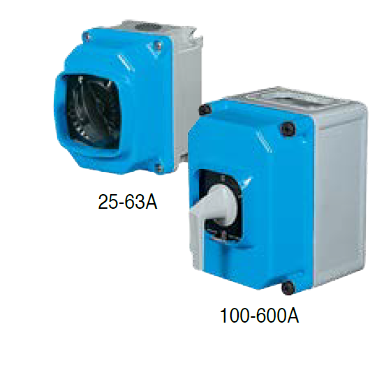 64A 4P AC23@400V ISOLATOR IP67