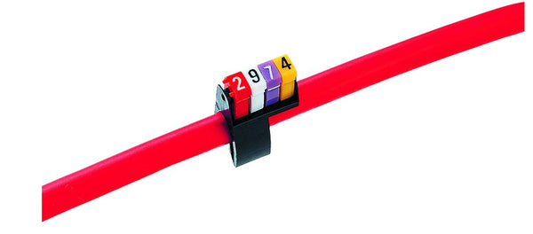 PKT 'D' 4-6MM CABLE MARKERS (300)
