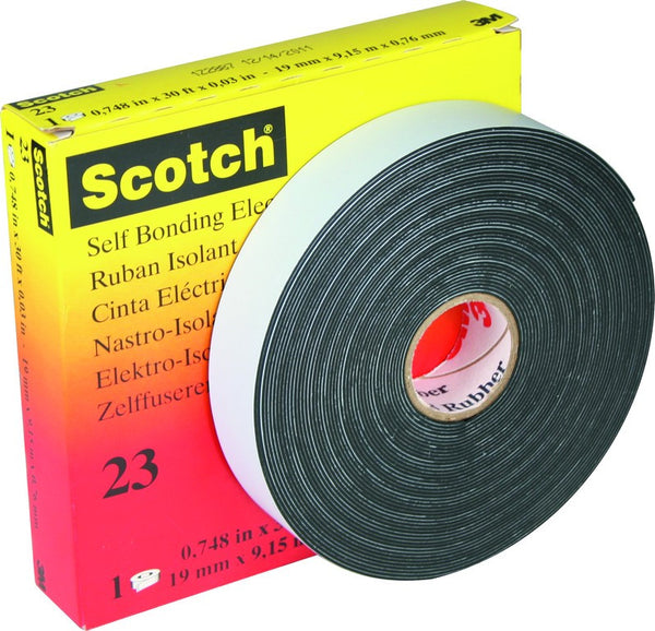 SCOTCH 23 SELF AMALGAMATING EPR TAPE. FOR HIGH VOLTAGE JOINT