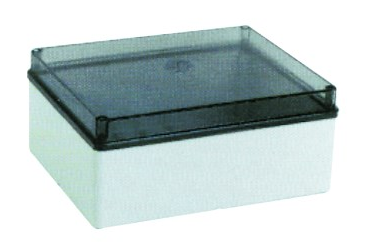 ENCLOSURE TRANSP. LID 380x300x120 IP56