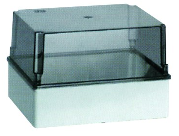 ENCLOSURE TRANSP. LID 150x110x140 IP56