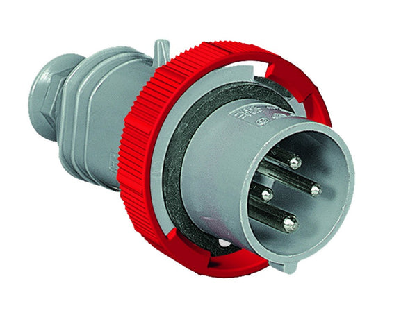 32A 400V 6H 3P+N+E FOR CONTAINER MALE PLUG IP67