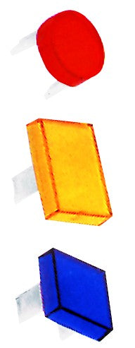 SQUARE LENS YELLOW