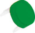 ROUND LENS GREEN