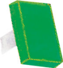 RECTANGULAR LENS GREEN