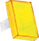 RECTANGULAR LENS YELLOW