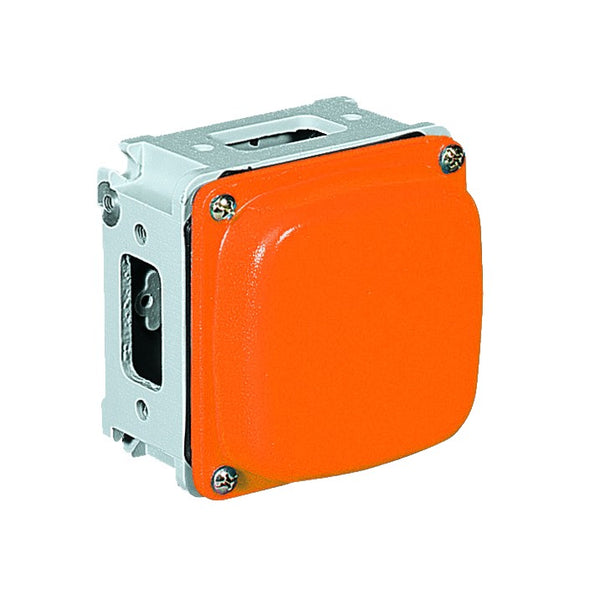 FOUR WAY JUNCTION BOX 125X125X63MM  FOR SOCKET 16/32/63 A
