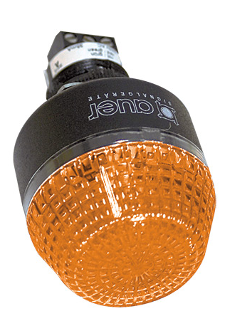 24VAC/DC 45mm AMBER BEACON STEADY/FLASHING IP65