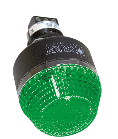230VAC 45mm GREEN BEACON/BUZZER STEADY/FLASHING IP65